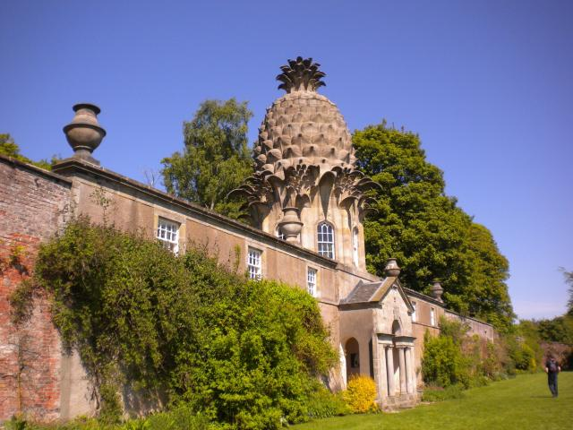 Finding Follies: Traveling In Search Of England's Eccentricities - Dunmore Pineapple