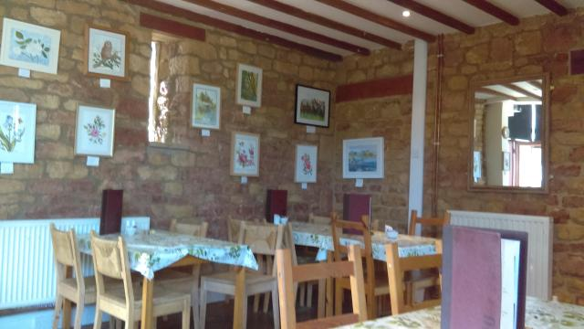 A Feast For The Senses: The National Herb Centre, Warwickshire - The Bistro