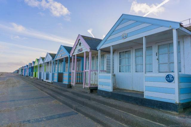 Cool or unusual things to do in England - Beach Huts at Southwold England