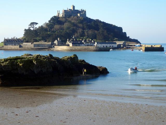Britain's 17 Most Amazing Castles You Must Visit - St Michael's Mount