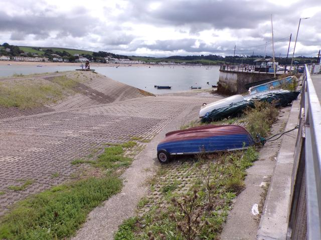 Things To Do In Appledore - boats on the slipway