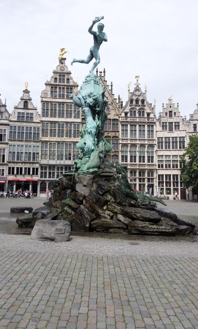 Absolutely Awesome Things To Do In Antwerp - Brabo statue