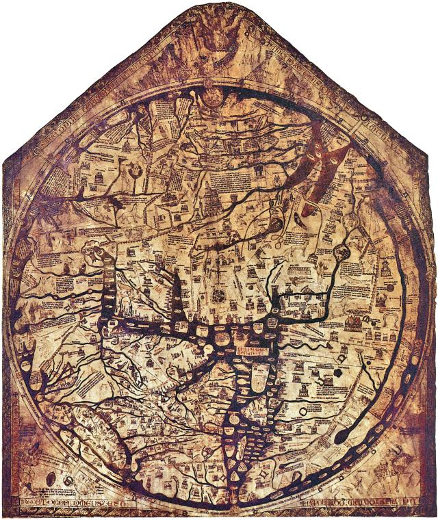 48 hours in the Welsh Marches land of conquests and castles - Hereford Mappa Mundi