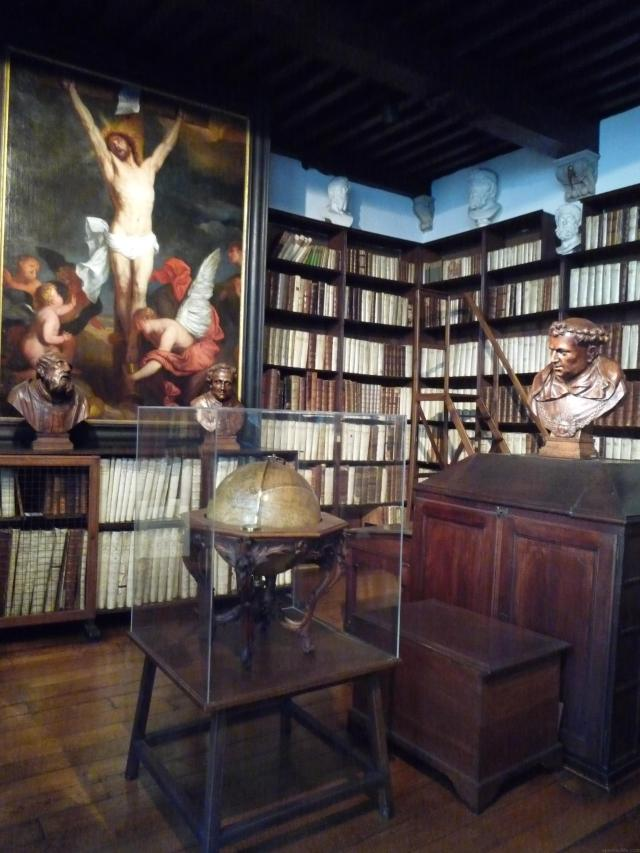 Absolutely Awesome Things To Do In Antwerp - Library at the Plantin Moretus Museum