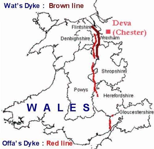 48 hours in the Welsh Marches land of conquests and castles - Offa's Dyke