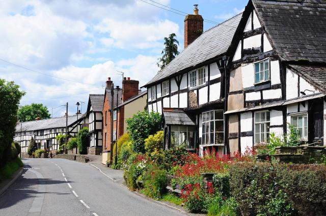 Discovering Herefordshire's Hidden Black And White Villages - Pembridge, Herefordshire
