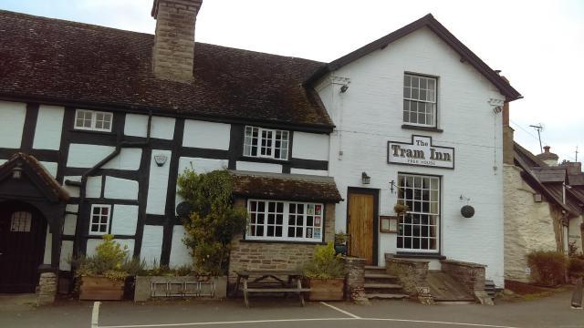 Discovering Herefordshire's Hidden Black And White Villages - Tram Inn, Eardisley, Herefordshire