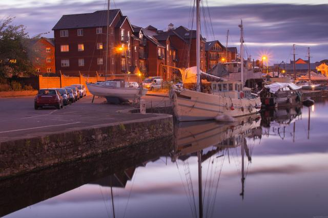 Top 10 UK City Breaks: Quayside, River Exe, Exeter, Devon