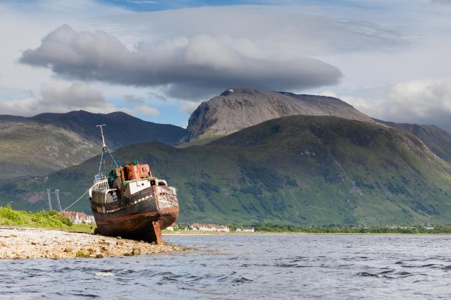 Scottish Highlands Itinerary - Ben Nevis from Loch Linnhe
