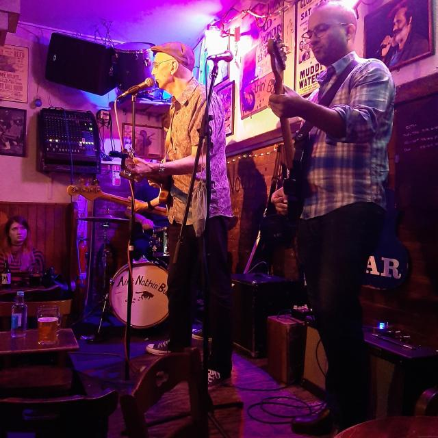 Sunday Blues Jam at Ain't Nothin' But Blues Bar, Kingly Street, Soho, London