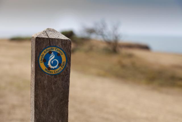 Wales Coast Path - Path Sign