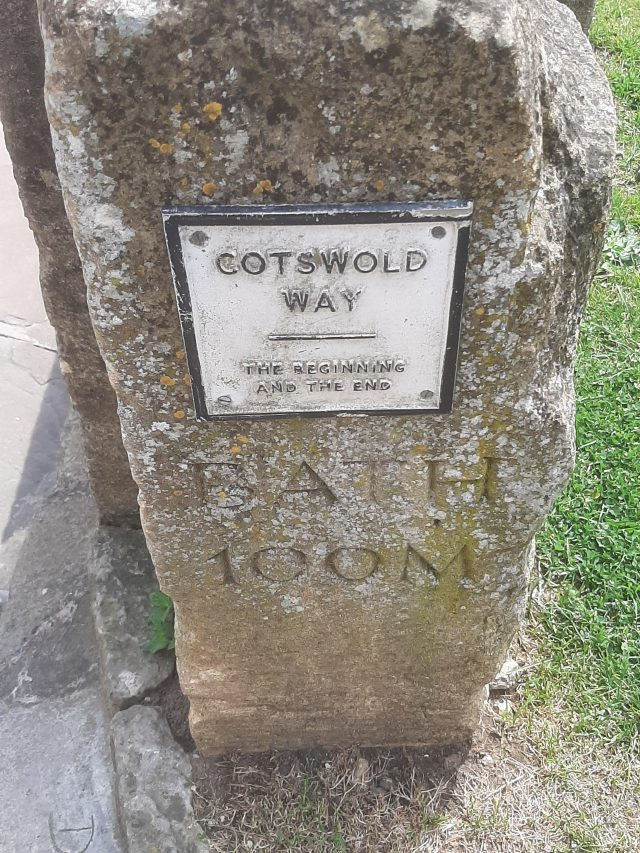 Cotswold Way Marker - Chipping Campden