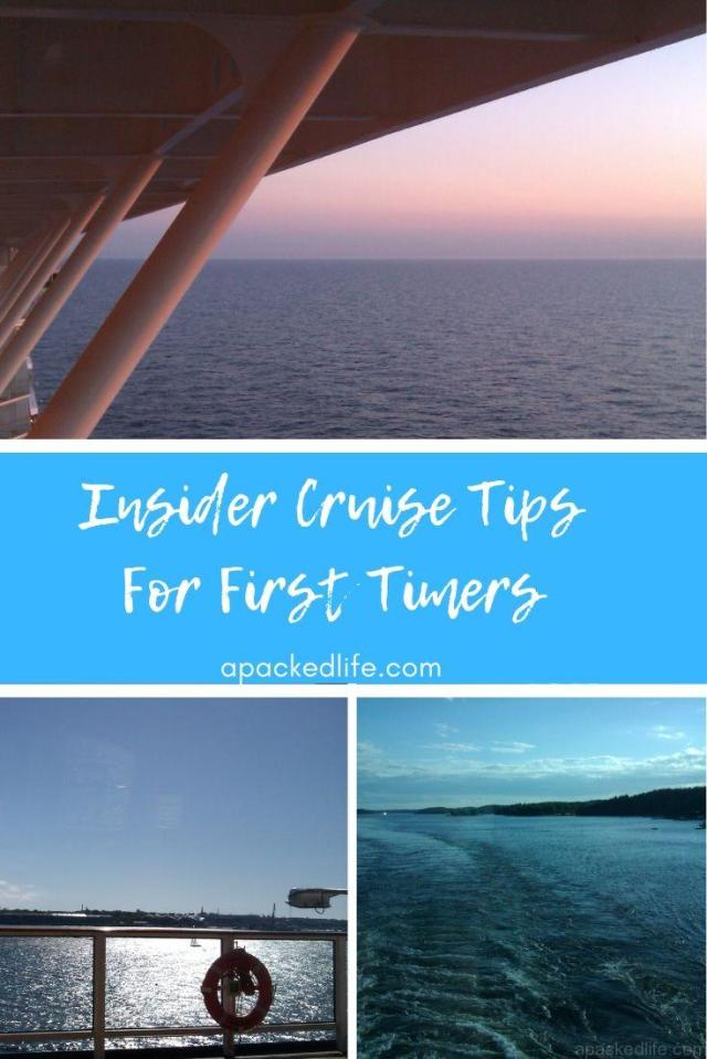 Insider Cruise Tips For First Timers