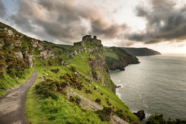Valley of the Rocks, Devon, England