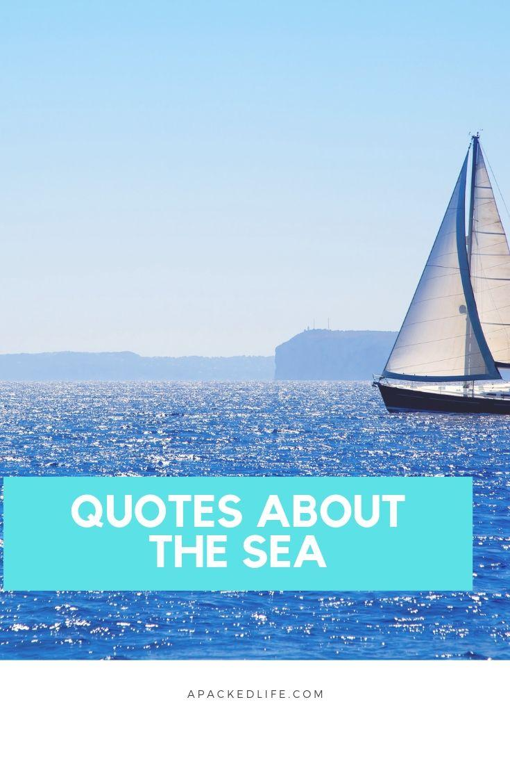 Quotes About The Sea For Ocean Lovers