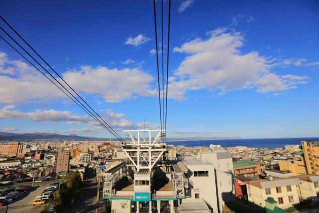 Mount Hakodate Ropeway Cable Car - Hakodate, Hokkaido, Japan