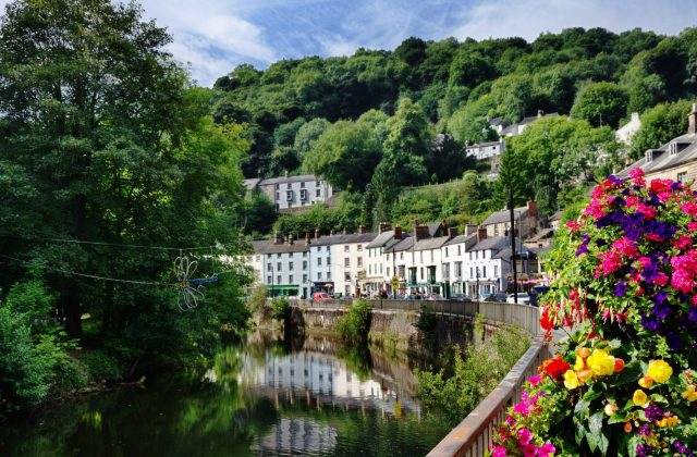Secret England Hidden Gems - Matlock Bath and River Derwent