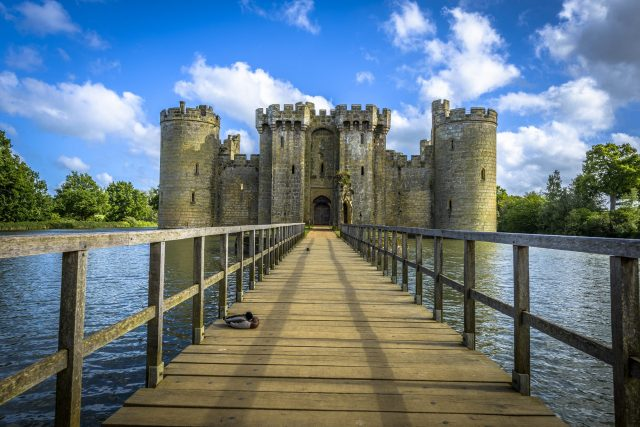 Castles Near London: Bodiam Castle, East Sussex