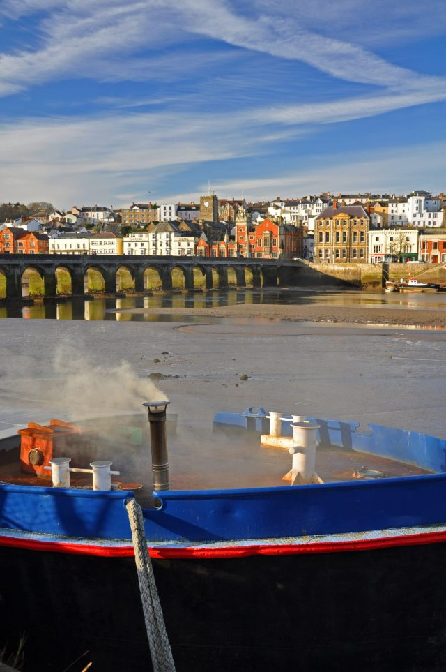 Secret England Hidden Gems - Bideford and the old bridge over the River Torridge