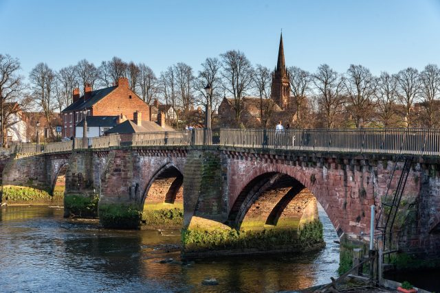 Best Things To Do In Chester - Grosvenor Bridge, River Dee