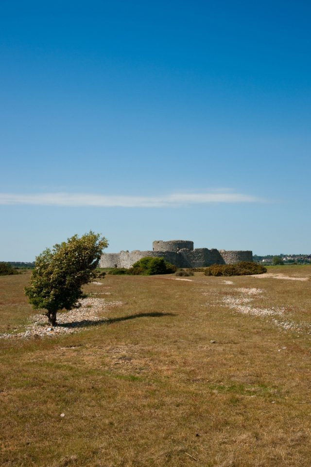 Castles Near London, Camber Castle near Rye, Sussex