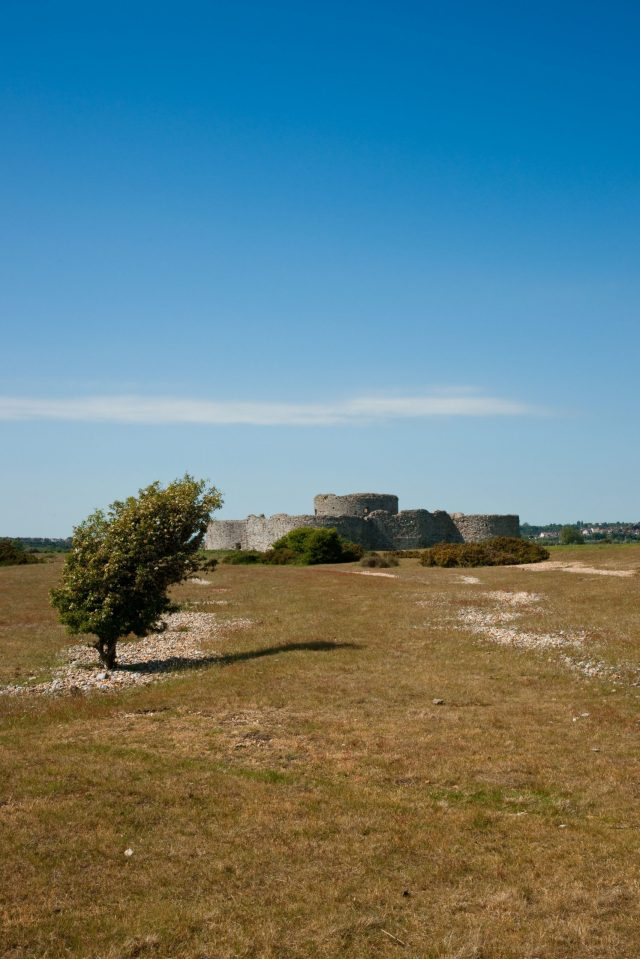 Castles Near London, Camber Castle near Rye, Sussex
