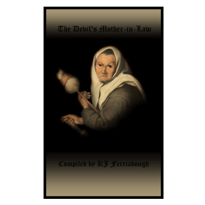 mean Old woman with distaff