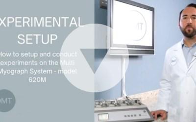New Training Videos for DMT Myographs and Organ BathS