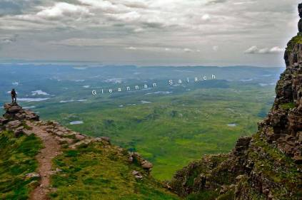 Salach from Quinaig mountain