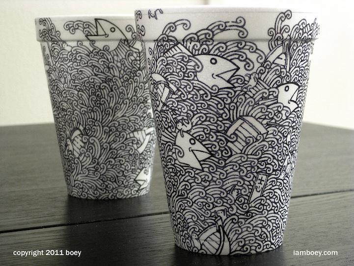 Un vaso, un café, una ilustración (5/6)
