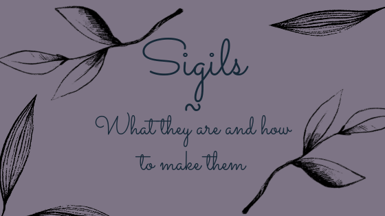 Sigils - What They Are and How to Make Them | A Pagan Mess