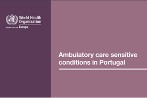 Ambulatory care sensitive conditions in Portugal