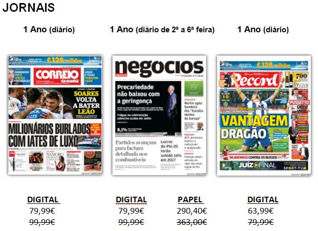 Jornais Cofina media
