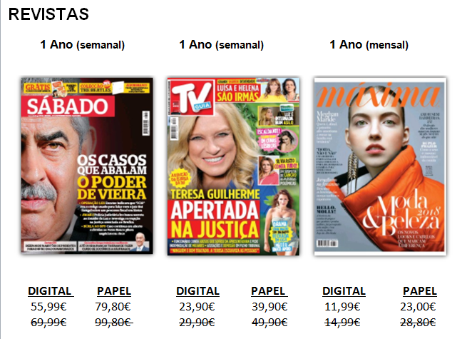 Revistas Cofina media