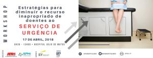 Banner Workshop Serviço de Urgência