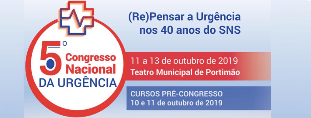 5.º Congresso Nacional da Urgência