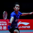 Tunggal Putra Indonesia Anthony Ginting. Foto-badmintonindonesia.org