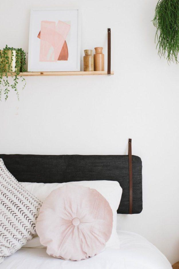 diy cushion headboard (an easy ikea hack!) | a pair & a spare