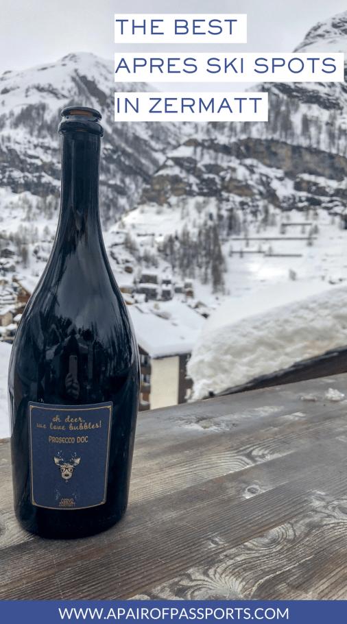 The Best Spots for Après Ski in Zermatt, Switzerland | Where to Après Ski in the Swiss Alps