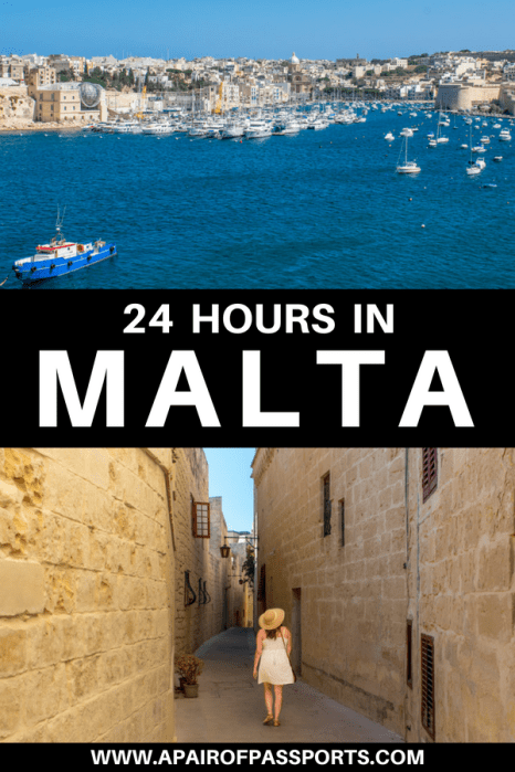 Where to do and what to do with 24 hours in Malta
