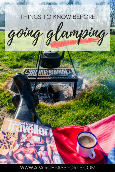 How to prepare for a glamping trip - Tips for glamping