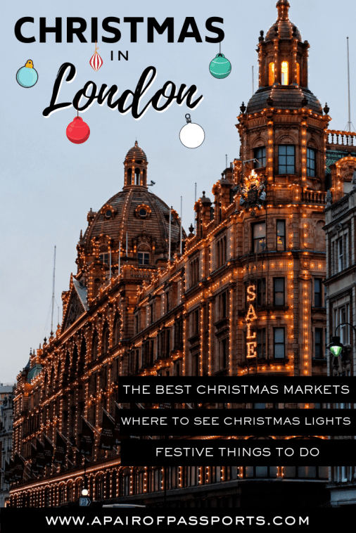 Christmas in London: Where to go, What to see