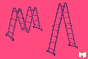 A Escada Articulada 13 em 1 da Botafogo não pode faltar na sua casa!