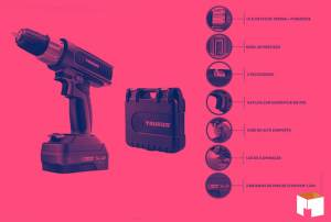 Potência e design inovador: conheça a Parafusadeira da Taurus!