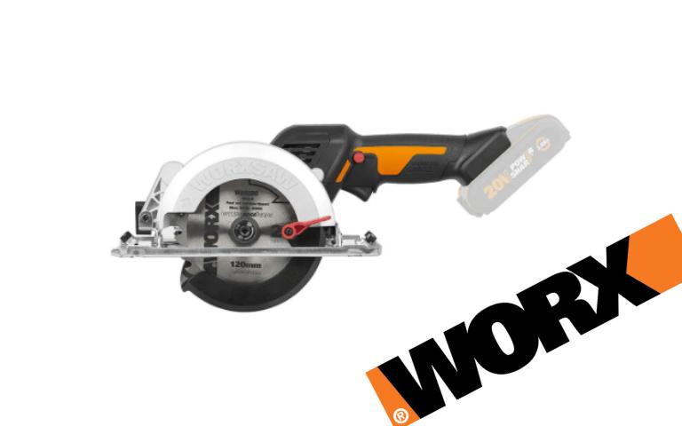 Já chegou a nova Serra Circular WorkSaw WX531.9 da Worx!
