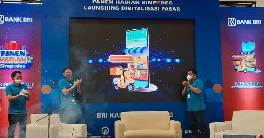 BRI Sumedang Luncurkan Pasar Digital