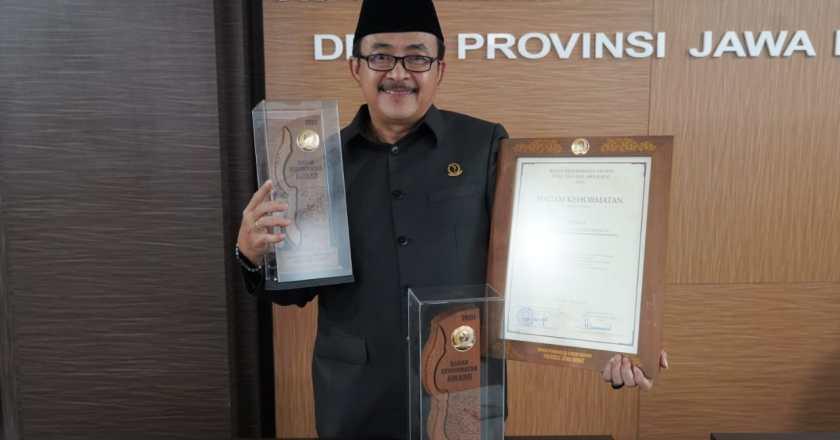 Sidkon dan Fraksi PKB DPRD Jabar Raih BK Award 2020