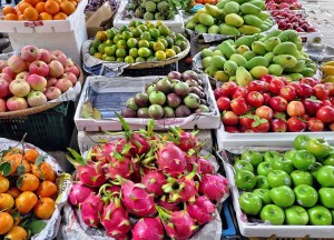 Almacenamiento de frutas y verduras.