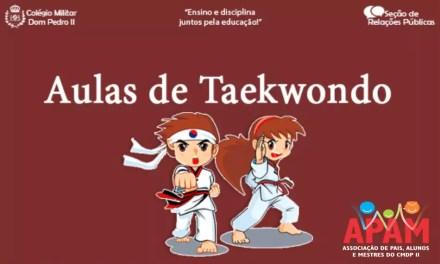 Aulas de Taekwondo