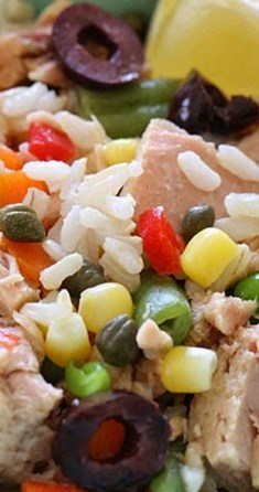 Italian Tuna and Brown Rice Salad (Riso e Tonno) - Skinnytaste